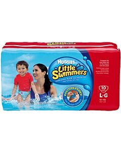Huggies Little Swimmers Large (10 pcs) - 32% OFF!!