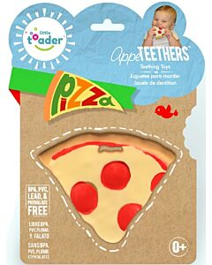 Little Toader: Appe Teethers - Soft Silicone Food Shaped BPA Free (Pizza) - 20% OFF!!
