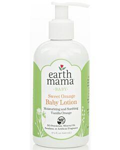 Earth Mama Baby Sweet Orange Baby Lotion 240ml