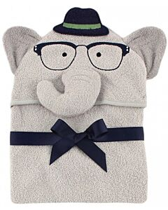 Luvable Friends: Animal Hooded Towel Embroidery (Elephant boy) *57052* - 20% OFF!!
