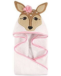 Luvable Friends: Animal Hooded Towel Embroidery (Fawn) *57075* - 20% OFF!!