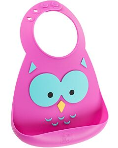 Make My Day: Baby Bib - Owl - 20% OFF!!