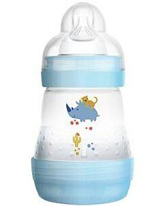 MAM Easy Start Anti Colic Bottle 160ml - Teat 1 (Blue) - 12% OFF!!