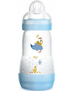MAM Easy Start Anti Colic Bottle 260ml - Teat 2 (Blue) - 12% OFF!!