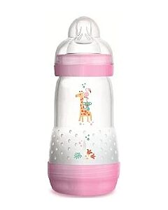 MAM Easy Start Anti Colic Bottle 260ml/9oz - Teat 2 (Purple / Pink) - 12% OFF!!
