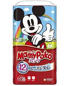 MamyPoko Disney Mickey Pants XL38 (12-17kg)