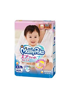 MamyPoko Open Air Fit (Tape) M64 (6-11kg)