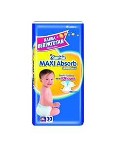MamyPoko Maxi Absorb XL30 (12-17kg) - 19% OFF!!