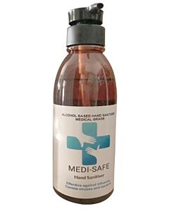 Medi-Safe Hand Sanitiser 400ml (Alcohol Based - Medical grade) - 20% OFF!!