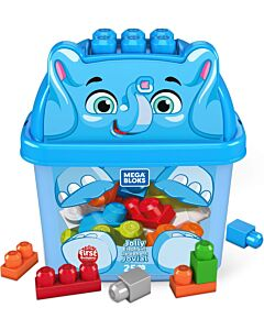 Mega Bloks: Build N' Learn First Builders 25pcs - Jolly Elephant - 15% OFF!!