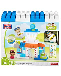 Mega Bloks: First Builder City Airport - 10% OFF!!
