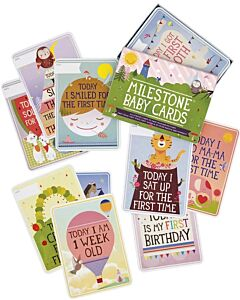 Milestone Baby Cards - The Original Baby Cards | 30 Cards | 12% OFF!