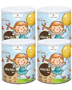 MIWAKO Grain Milk 700g x 4 tins (Lactose Free, Gluten Free) - 19% OFF!!