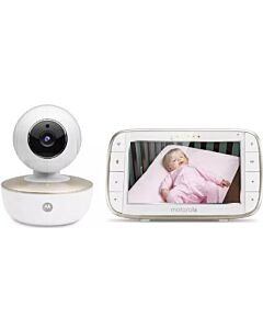 Motorola MBP855 CONNECT 5 inch Portable Video Baby Monitor with Wi-Fi - 20% OFF!!