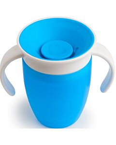 Munchkin: Miracle 360° Trainer Cup 7oz (Blue) - 20% OFF!!