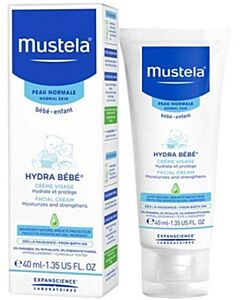 Mustela: Hydra Bébé® Facial Cream - 40ml - 38% OFF!