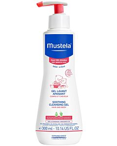 Mustela Very Sensitive Soothing Cleansing Gel - 300ml - 15% OFF!!