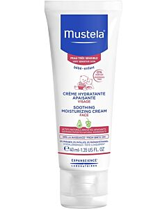 Mustela: Soothing moisturizing cream 40ml (For Face) - 15% OFF!!