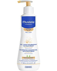Mustela: Nourishing cleansing gel with Cold Cream 300ml - 15% OFF!!