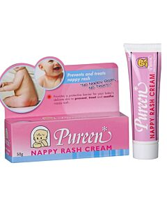 Pureen: Nappy Rash Cream 50g - 37% OFF!!