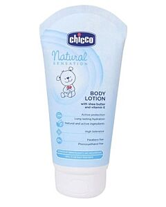 Chicco: Natural Sensation Body Lotion (with Shea Butter & Vitamin E) 150ml - 20% OFF!!