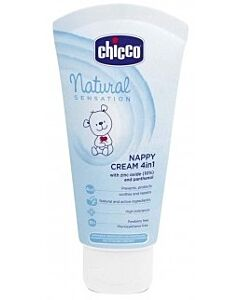 Chicco: Natural Sensation Nappy Cream 4-in-1 (with Zinc Oxide and Panthenol) 100ml