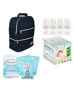 Autumnz: Neatpack Cooler Bag Package (FREE! Breastmilk Storage Bottle 4oz + Reusable Ice Pack 3packs) - 25% OFF!!