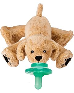Nookums Paci-Plushies Rufus Puppy Buddies™ Pacifier Holder (Plush Toy Includes Detachable Pacifier, Use with Multiple Brand Name Pacifiers) - 18% OFF!!