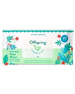 Offspring Baby Wipes 20pcs - 15% OFF!!