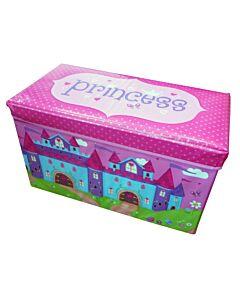 Simple Dimple Foldable Storage Stool - Princess [30% OFF!!]