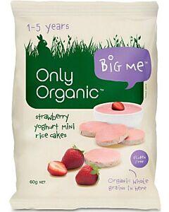Only Organic Strawberry Yogurt Rice Cake 60g