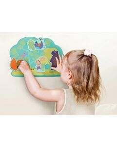 Oribel Vertiplay Wall Toys | Hoppy Bunny & Friends —— 2 & 3 Piece Puzzle - 12% OFF!