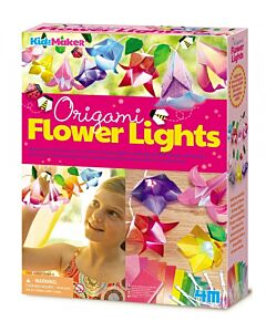 4M Kidz Maker | Origami Flower Lights - 15% OFF!!
