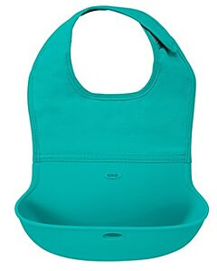 OXO TOT: Roll Up Bib - Teal - 20% OFF!!