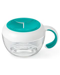 OXO TOT: Flippy™ Snack Cup with Travel Cover - Teal - 25% OFF!