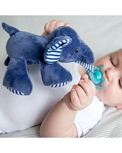 Bubble Pacifier Holder - Ryan the Elephant - 20% OFF!!