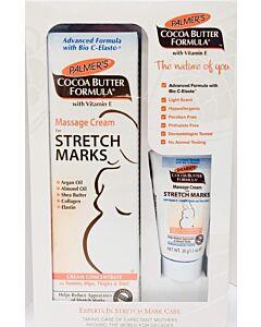 Palmer's Cocoa Butter Formula - Massage Cream for Stretch Marks 125g + FOC 11g [29% OFF!!]