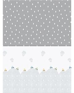 Parklon: Fisher Price PVC Pure Soft Mat (Double Sided) - Travelling + Montegrey (M) - 28% OFF!!