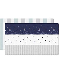 Parklon: PVC Pure Soft Mat (Double Sided) -  Little Prince + Modern Line (M) - 22% OFF!!