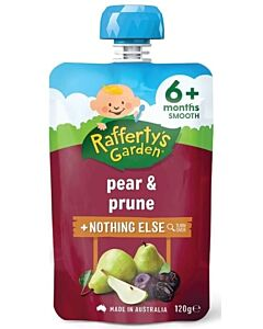 Rafferty's Garden: Pear & Prune 120g (6+ Months) - 23% OFF!!