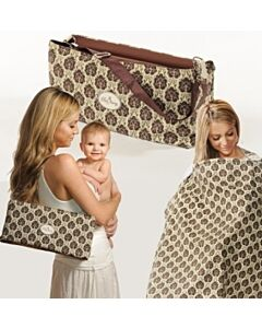 Peek Away: 4-in-1 Essentials Nursing Kit (Brown/Rust Dot PK2769) - 10% OFF!!
