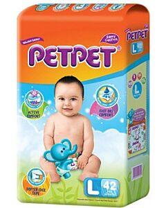 PET PET Diapers - Large L42 - BEST BUY!