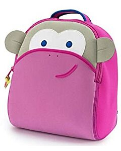 Dabbawalla: Backpack - Pink Monkey - 15% OFF!!