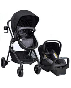 Evenflo Travel System Stroller Pivot (EV0179-EFBK) - Black - 58% OFF!!