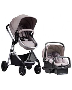 Evenflo Travel System Stroller Pivot (EV0179-EFGY) - Sandstone / Grey - 53% OFF!!