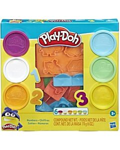 Play-Doh: Fundamentals Numbers Stampers Tool Set (3 Years+) - 5% OFF!!
