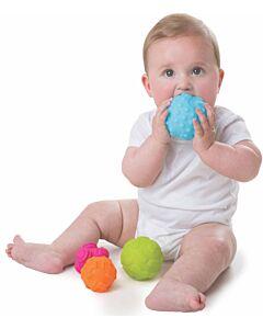 Playgro Textured Sensory Balls - 4 Pack - 15% OFF!!