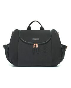 Storksak: Poppy Luxe Black Scuba + Shopper Tote (Great Diaper Bag!) - 15% OFF!!