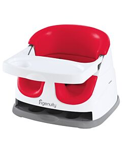 Ingenuity Baby Base 2-in-1 Seat (Poppy Red) NEW 2018 (Version 3.0) - 37% OFF!!