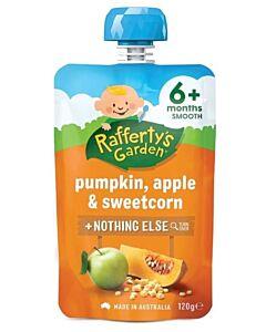 Rafferty's Garden: Pumpkin, Apple & Sweetcorn 120g (6+ Months) - 23% OFF!!